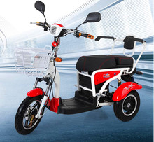 48v20Ah factory wholesale Electric Scooter for disabled people / 3 Wheel 16 inches citycoco electric scooter 500w