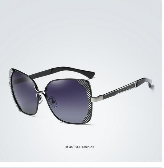 Female polarized elegant butterfly brand designer lady polarized sunglasses female Oculos De Sol KINGSEVEN shadow s'40 9