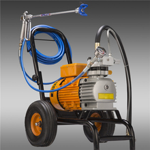 8L/min Electric high-pressure airless spraying machine 980 two guns Wall Painting Sprayer FOR emulsion varnish oil paint coating