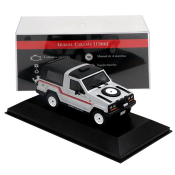IXO 1:43 Scale Gurgel Carajas 1986 Auto Show Miniature Models Cars Collection Toys Diecast image