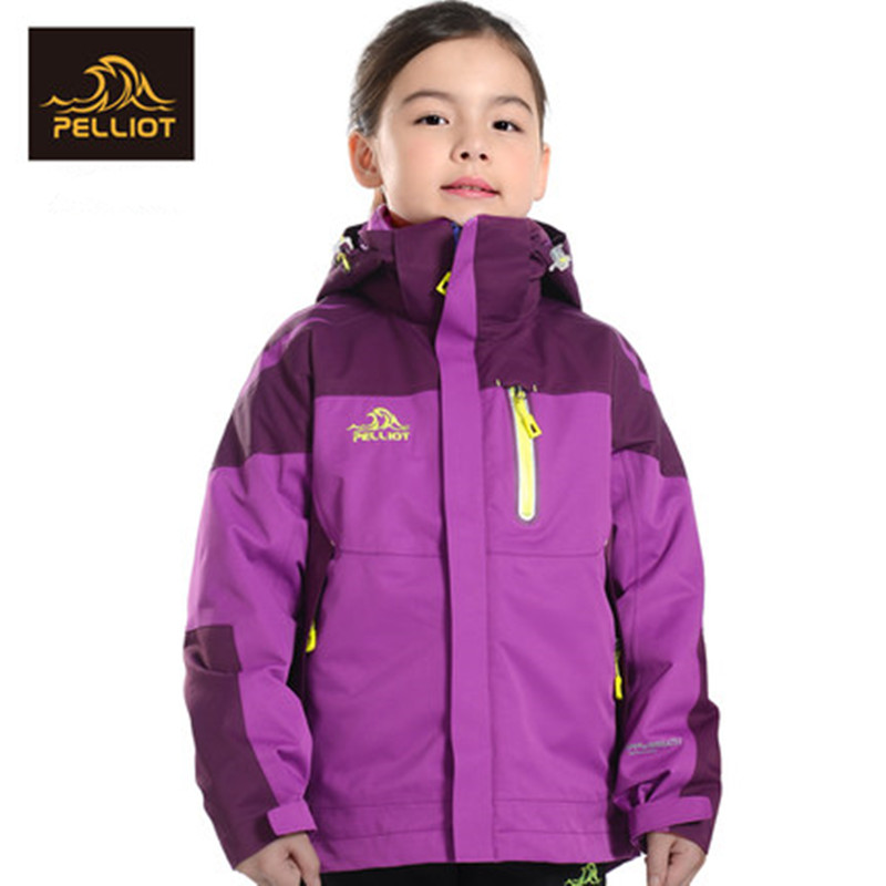 French PELLIOT children's children's clothing for boys and girls three in one wind protection and two pieces of jacket jacket купить недорого в Москве