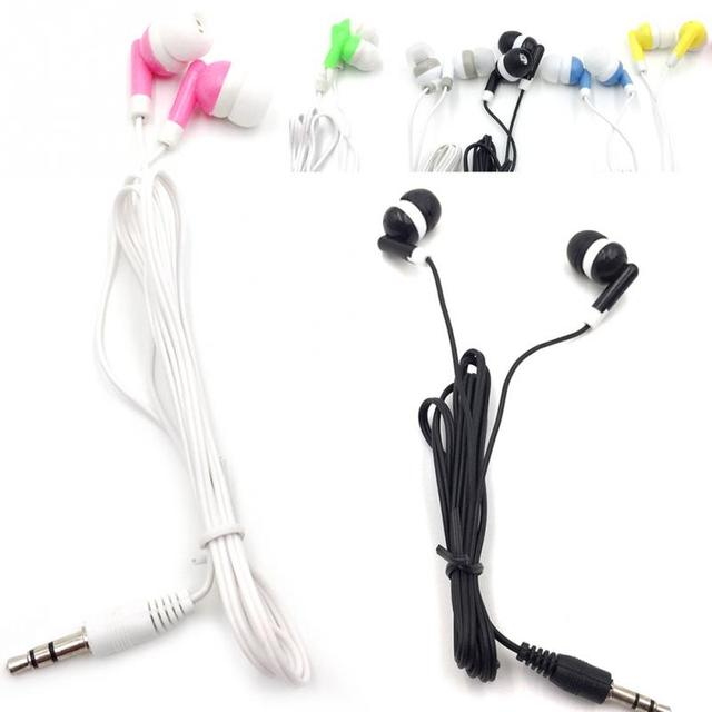 New In-ear Phone Earphone Earbuds Stereo Sport Headphone Noise Isolating Headset with Mic for Iphone Mobile Phone Universal &