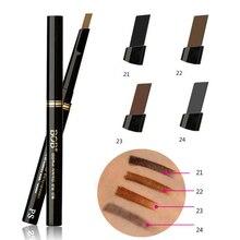 HOT Women Ladies Waterproof Brown Eyebrow Pencil Eye Brow Liner Pen Powder Shaper Makeup Tool Hot Sale 920