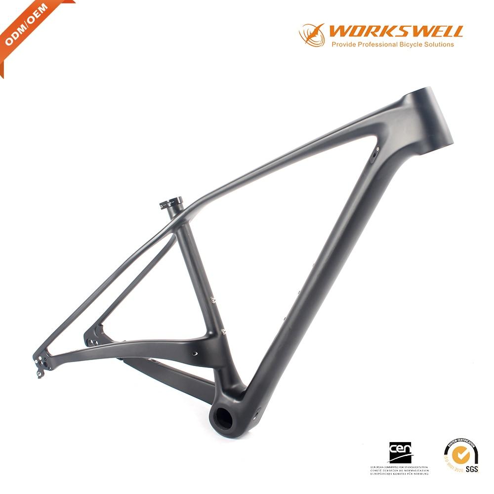 Workswell T800 carbon MTB fahrradrahmen 27.5er + 29 + hardtail bike ...