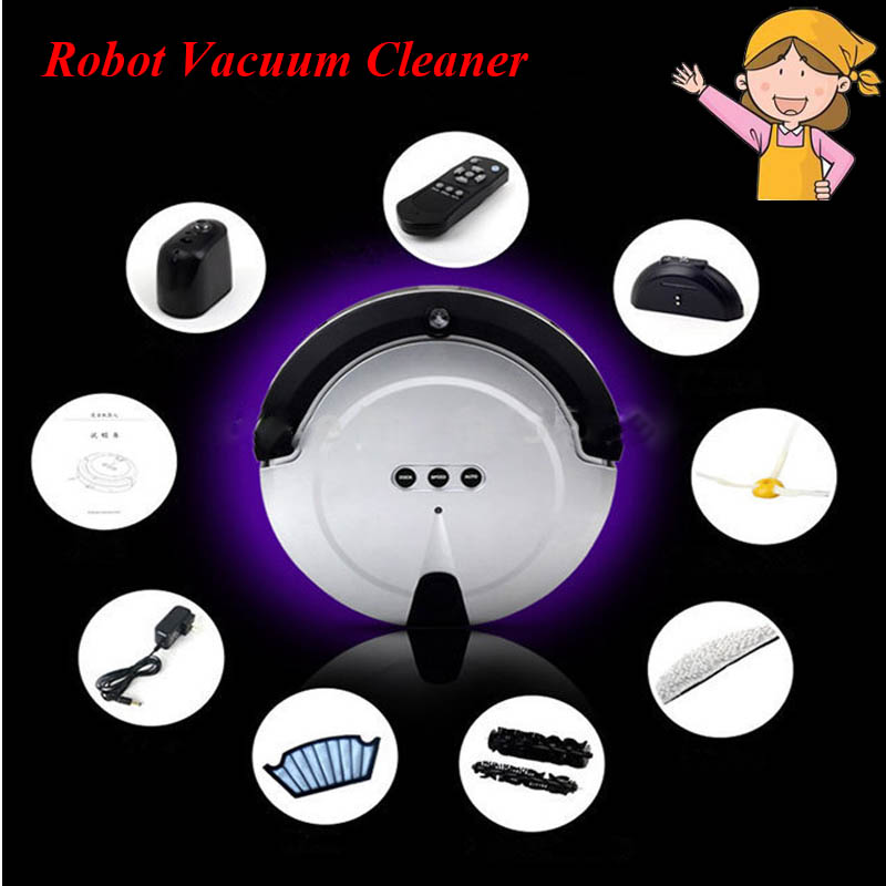 1pc New Fashion Smart Household Ultra-Thin Robot Efficient Automatic Household Vacuum Cleaner for Underbed, Undertable KRV208 optimal and efficient motion planning of redundant robot manipulators