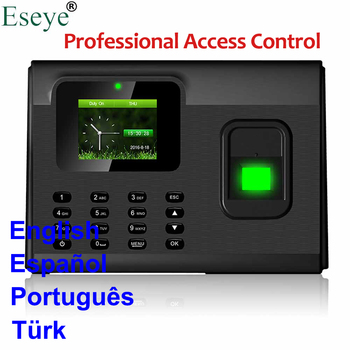 Biometric Fingerprint Time Attendance System USB Access Control Fingerprint Employee Time Clock Time Attendance Machine TCP IP панама bucket hat cotton l синяя