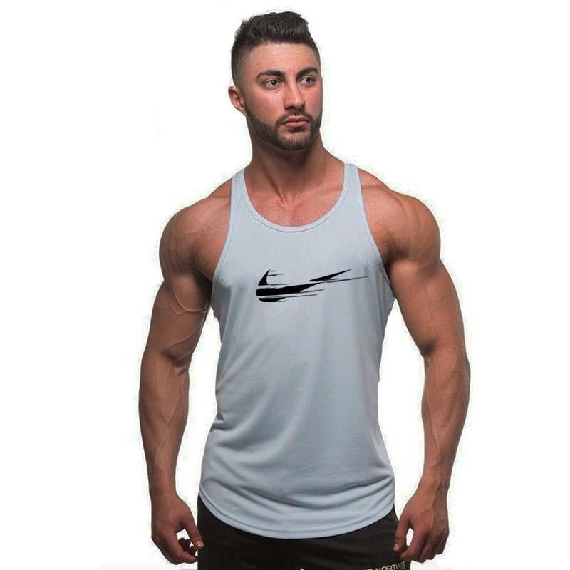 Summer fashion Golds gyms Brand singlet canotte bodybuilding stringer   tank     top   men fitness vests muscle guys sleeveless vest