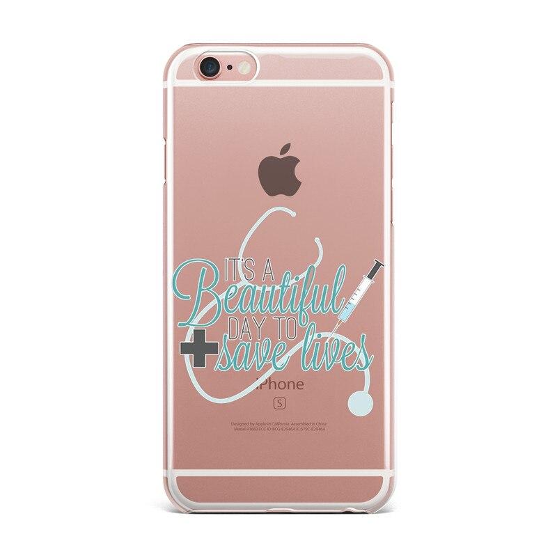 Nette Greys Anatomie Zitate Pattern Handy fälle Für Fundas iPhone 6 ...