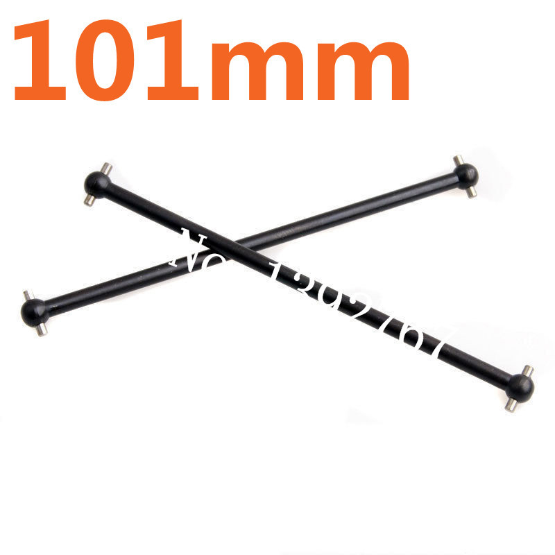 2P For FS Racing 538104 Metal Front / Rear Dogbone 101mm RC 1/10 Scale Models RC Car Off Road Monster Truck Remote Control Cars(China)