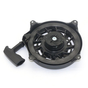 Image 2 - Zwart Onderdelen Vervanging Tool Pull Terugloopstarter 497680 Toro Grasmaaier Metalen Plastic Montage Voor Briggs Stratton