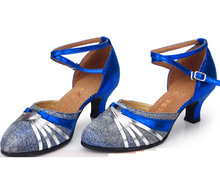 Modern Latin dance shoes women's square dance party shoes jazz dancing sandals gladiator shoes