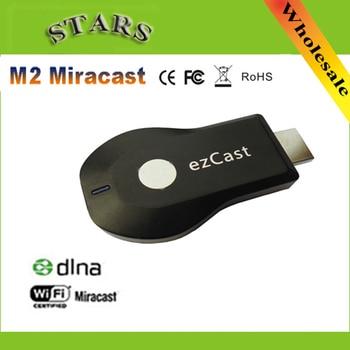 M2 Ezcast inalámbrica HDMI miracast airplay dlna tv stick wifi pantalla reproductor de medios 1080 p hdmi wifi dongle para windows ios android