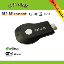 M2 Ezcast kablosuz HDMI miracast airplay dlna tv çubuk mini PC wifi ekran medya oynatıcı 1080p hdmi wifi güvenlik cihazı windows ios android için