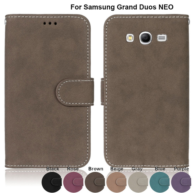 for Samsung Galaxy Grand Duos i9082 i9060 i9060i GT-i9082 GT-i9060 GT-i9060i Cases PU Leather Cover For Samsung Neo GT-9082 9080