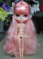 Stykowo lalka, Nude blyth doll z stykowo ciała, pink1 włosów, dla dziewczyny Prezent, walentynki prezent, Boże Narodzenie present