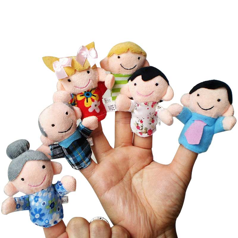 6-Pcs-set-Story-Finger-Puppets-Toy-6-People-Family-Members-Educational-Toys-for-Children-Kids-Birthday-Christmas-Gifts-2