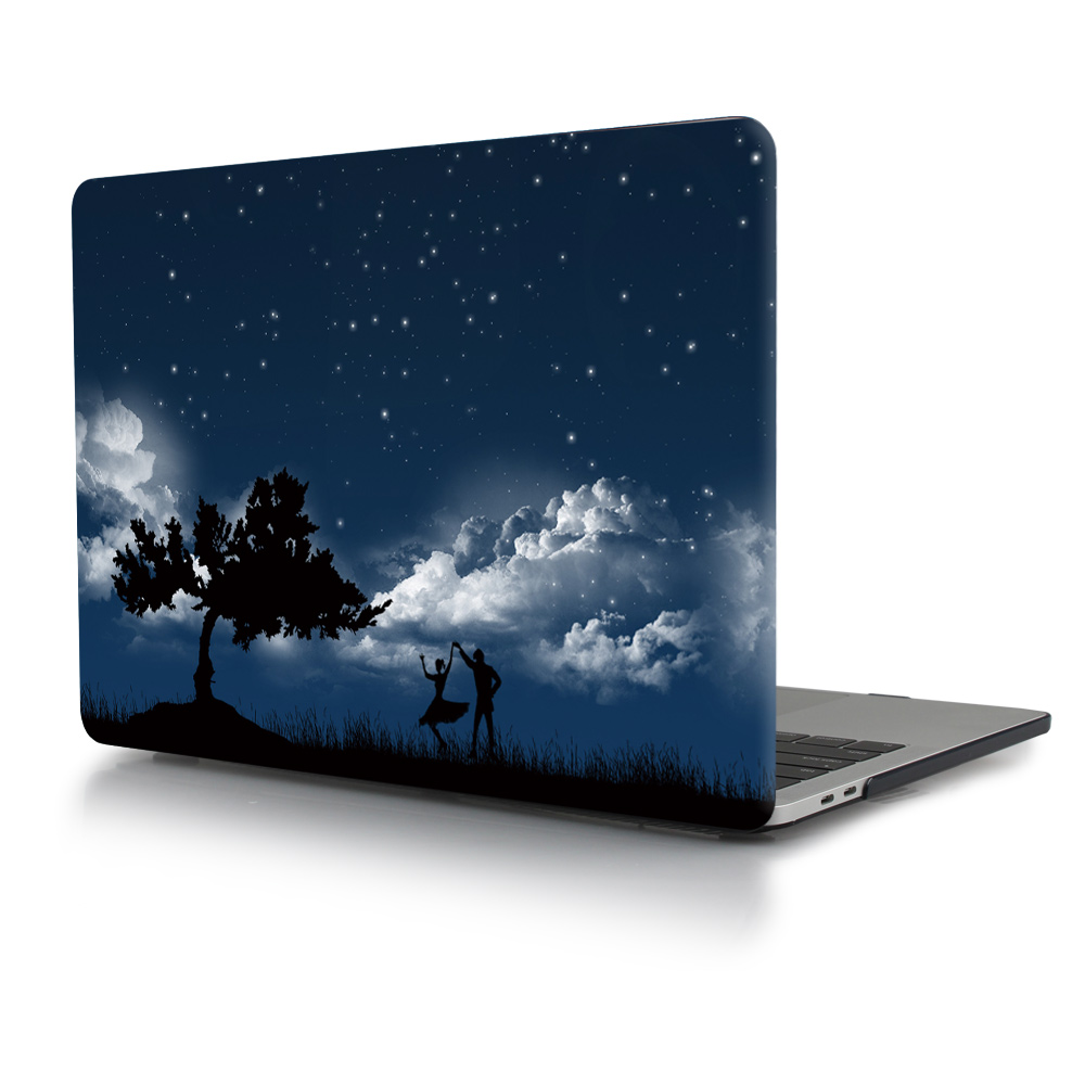 Print Crystal Clear Hard Case for MacBook 98