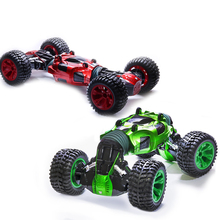 2.4Ghz 4WD RC Car High Speed RC Deformation Car Toys Monster Rock Crawler Off Road Dirt Truck Big Wheels Toy