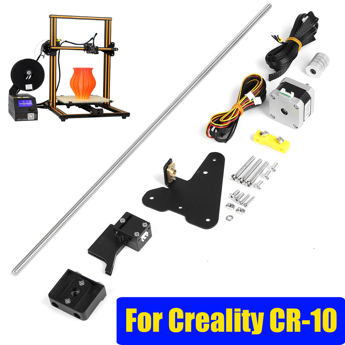 S SKYEE 3D Printer Dual Z axis Upgrade Kit + Filament Sensor Kits For Creality CR 10 3D Printer Parts-in 3D Printer Parts & Accessories from Computer & Office    1