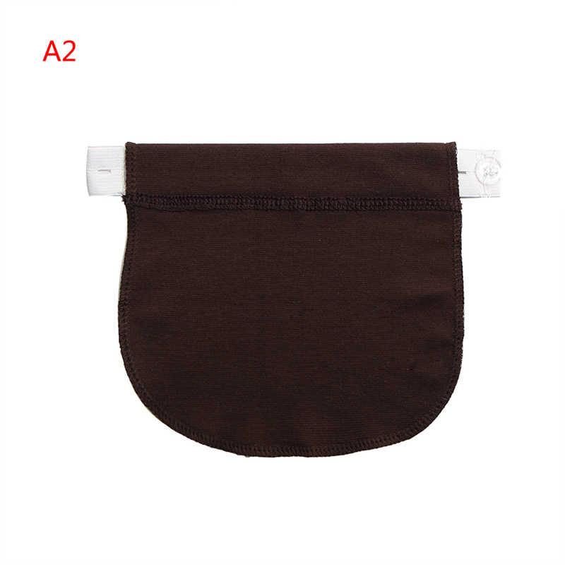 Macierzyński pasek ciążowy pas regulowane elastyczne spodnie w pasie Extender odzież dla ciężarnych akcesoriów do szycia