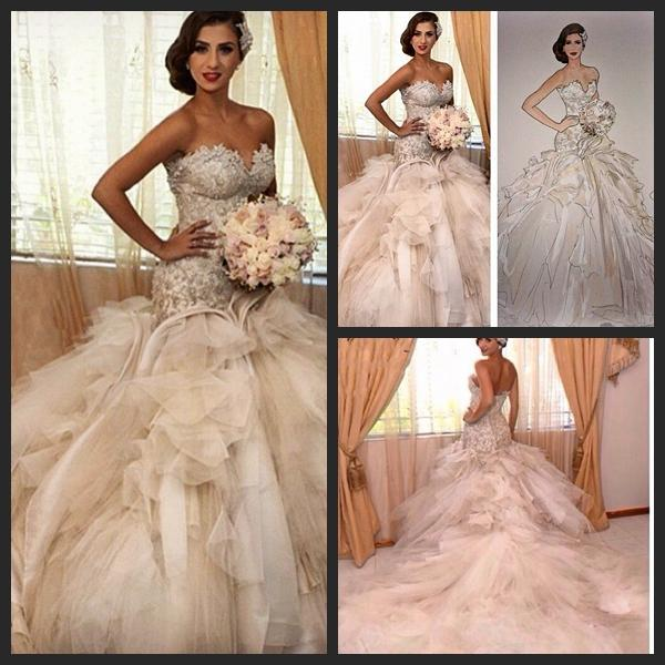 Gorgeous Bride Dresses