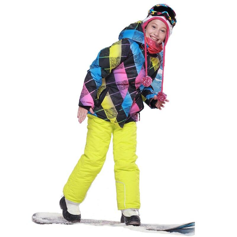 a2a5c9ac0 Dollplus 2019 Boys Ski Set Children Clothes Waterproof Windproof ...