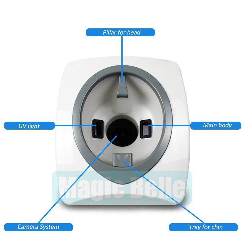 2018 горячий цифровой 3D сканер кожи анализатор/профессиональный анализ кожи для использования клиники