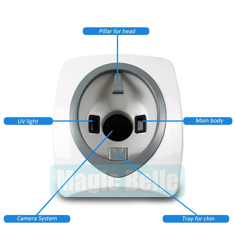 2018 Hot Digital 3D Scanner Analizzatore Della Pelle/Analisi Della Pelle Professionale per uso clinico