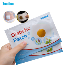 sumifun  12pcs/2bags Diabetic Patches Control Blood Sugar Lower Blood Glucose Natural Herbs Health Care Plasters D1788 herbs and health