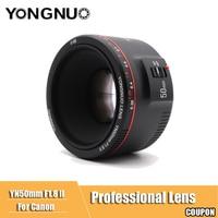YN50mm F1.8 II Large Aperture Auto Focus Lens YONGNUO for Canon Bokeh Effect Camera Lens for Canon EOS 70D 5D2 5D3 600D DSLR