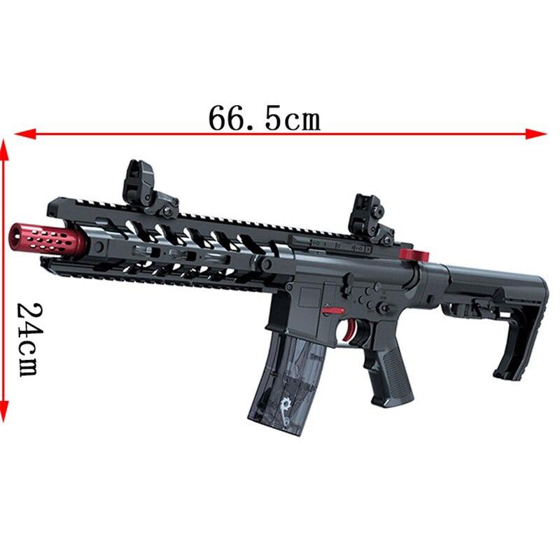 Manuel Sniper fusil pistolets jouet eau éclater enfants en plein air amusant sport jeu jouet pistolets cadeau d'anniversaire