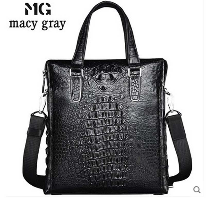 meixigelei new hot Alligator leather men handbag men single shoulder men bag men handbag crocodile skin bag