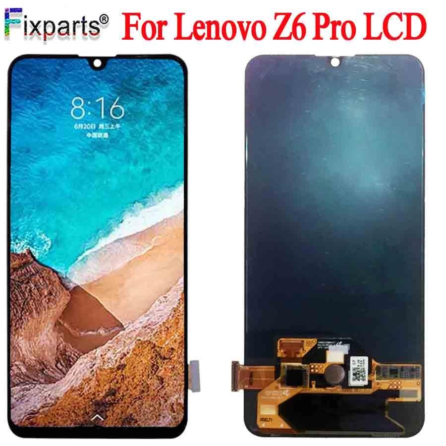 Test d'origine LCD pour Lenovo Z6 PRO affichage écran tactile numériseur panneau de remplacement pour Lenovo Z6 Pro LCD sans écran de cadre