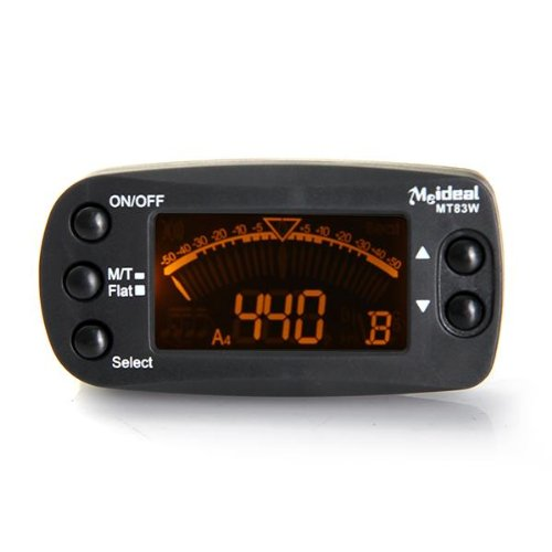 SDYS ET-36 Clamp Tuner For Guitar Chromatic Tuner with clip.