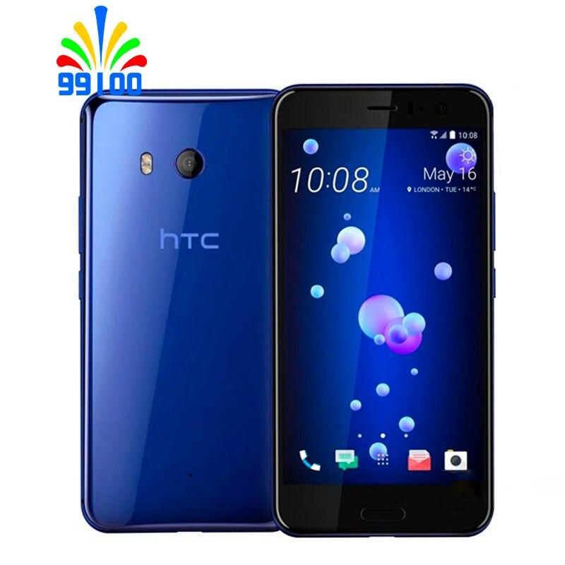 Original HTC U11 Dual sim 5.5 inch 4GB RAM 64GB ROM Qualcomm 835 Octa Core 4G LTE Cell Phone Android7.1 fingerprint(China)
