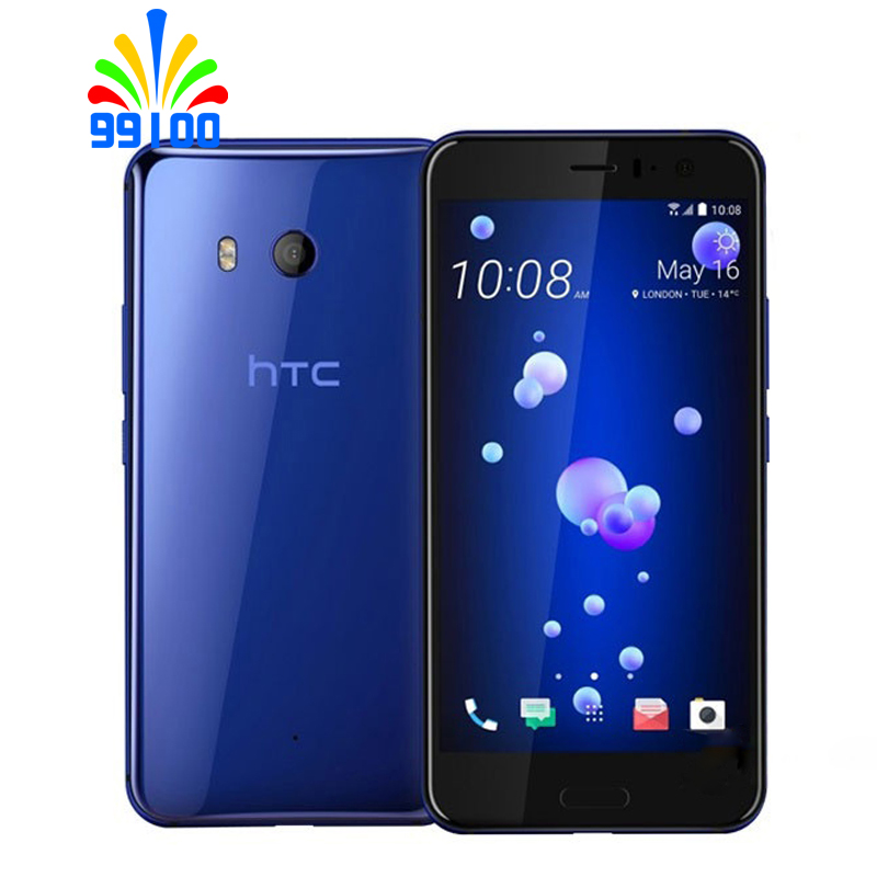 Original HTC U11 Dual sim 5.5 inch 4GB RAM 64GB ROM Qualcomm835 Octa Core 4G LTE Cell Phone Android7.1 fingerprint-in Cellphones from Cellphones & Telecommunications    1