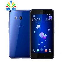 Восстановленный Оригинальный HTC U11 с двумя sim-картами, 5,5 дюйма, 4 Гб ОЗУ, 64 Гб ПЗУ, Восьмиядерный процессор Qualcomm 835, 4G LTE, сотовый телефон на базе ...