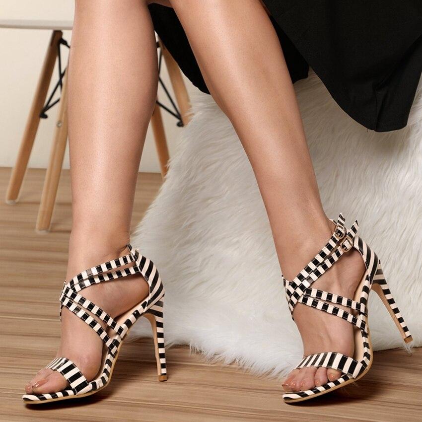 Sandalias Yellow Sandalia Charol Verano Mujer Boda De Zapatos Sexy Alto Cm 10 Banma Bombas white 5 Tacón Banma Señoras EwqxABZp