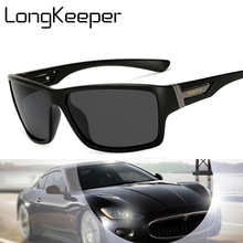 Long Keeper Vintage Polarized Sunglasses Men Brand 2018 New Driving Goggles Sun Glasses gafas De Sol Masculino KP1821