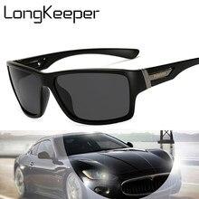 Long keeper óculos de sol polarizado masculino, vintage 2020