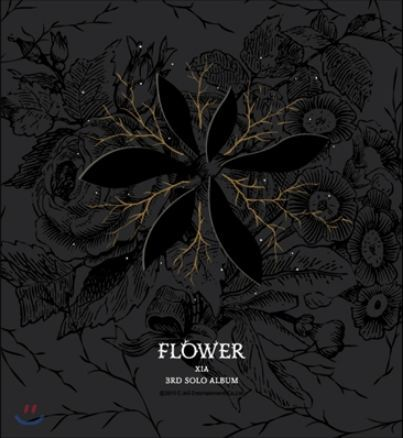 JYJ KIMJUNSU XIA 3RD ALBUM VOL 3 - FLOWER + 1 random photocard) Release Date 2015-3- 18 KPOP wisher vol 3 glee
