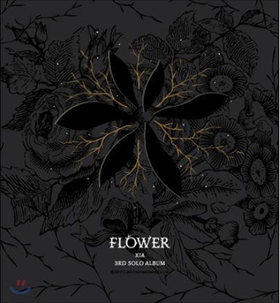 JYJ KIMJUNSU XIA 3RD ALBUM VOL 3 - FLOWER + 1 random photocard) Release Date 2015-3- 18 KPOP