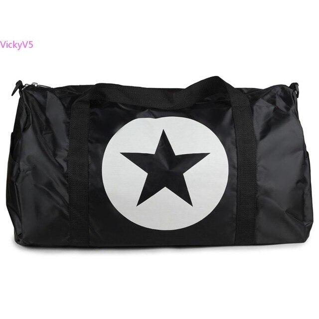 New Fashion Unisex Travel bag luggage handbag portable one shoulder  cross-body bag large capacity boarding bag 50 7418431cb479c