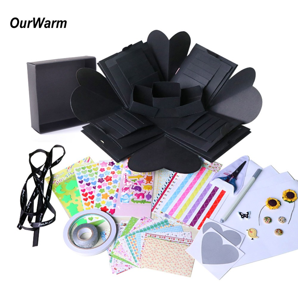 OurWarm DIY Surprise Love Explosion Box Gift For