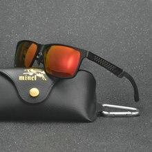 67b89744c6b88 Mincl óculos Polarizados dos homens Óculos De Sol De Alumínio E Magnésio  Quadro de Carro de Condução Óculos de Sol 100% UV400 Po.