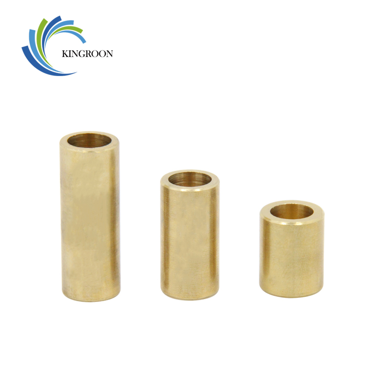 Self-lubricating Copper Sleeve Special Bearings Slide 3D Printers Parts Metallurgy Bushing Brass Parts Accessories 8*12*15mm refined iron powder metallurgy parts manufacturing 014