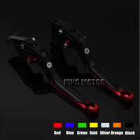 For YAMAHA YZF R125 2008 2011 Motorcycle Accessories Adjustable Folding Extendable Brake Clutch Levers Gold