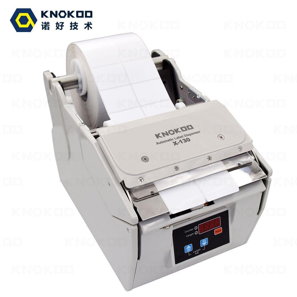 Rótulo automático dispenser Knokoo X-130 5 dispenser máquina de Etiqueta Da etiqueta com Função de Contagem de largura-130 MILÍMETROS