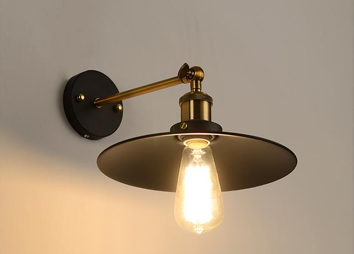 Slaapkamer Lamp Zwart : Moderne korte plafondlamp edison lamp noord europese vintage ijzer