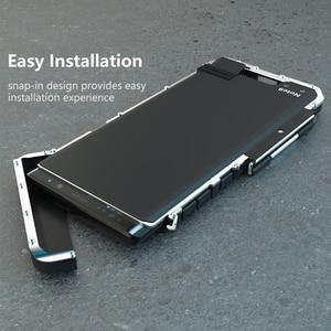 Image 4 - Armor King In Acciaio Inox Metallo di Caso di Vibrazione Per Samsung Galaxy Note 9 10 Antiurto Copertura Per Samsung Note9 S10 5G di Lusso del Metallo